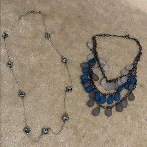 2 necklaces from charming Charlie